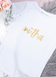 MUTHA Breastfeeding T-shirt (White) - The Milky Tee Company