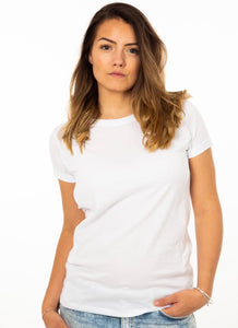 PLAIN WHITE Breastfeeding T-shirt - The Milky Tee Company