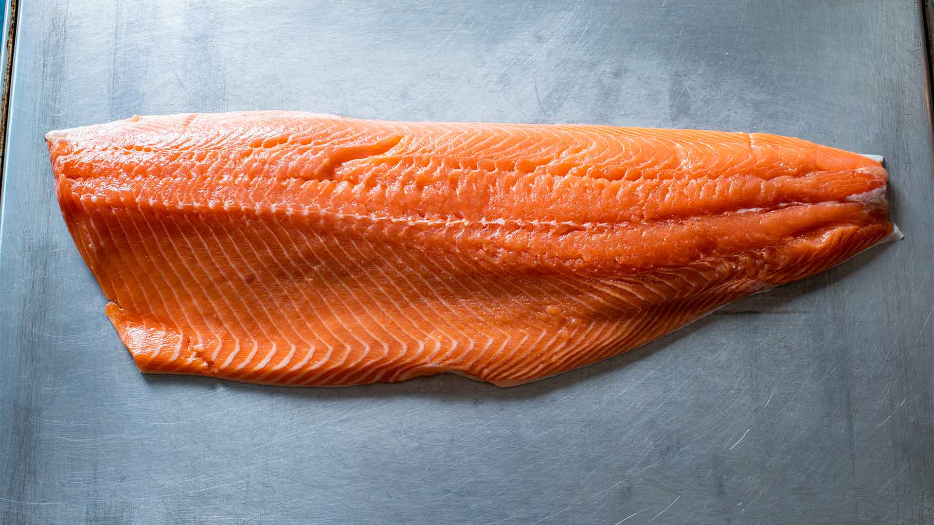 Ideal Fish Recipe, Pan-Roasted Salmon with Garlic and Thyme