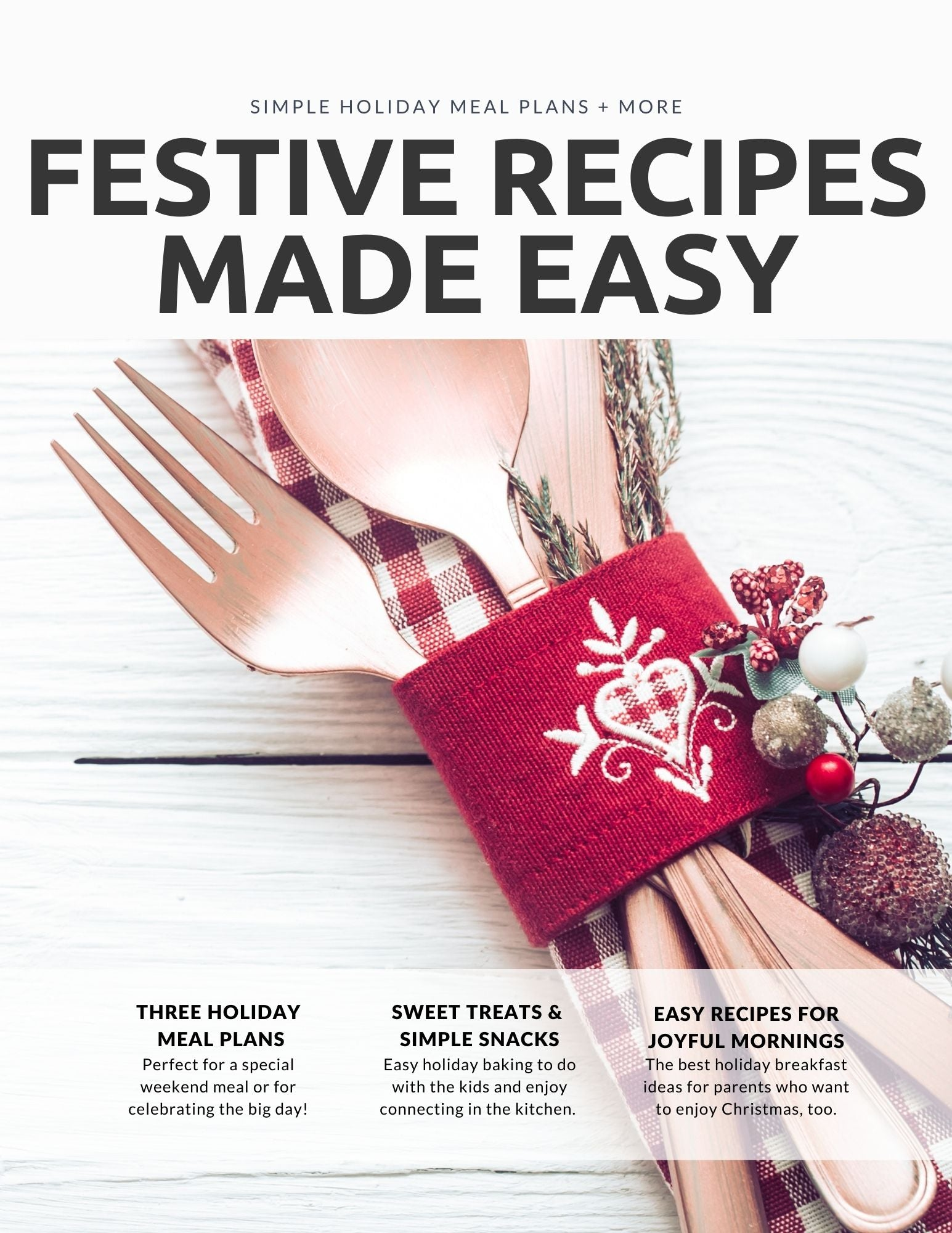 Kitchen Time Saver — Festive Christmas Recipes Made Easy