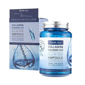 [Farm stay] Collagen & Hyaluronic Acid All In One Ampoule 250ml