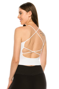LOW BACK CROP TOP