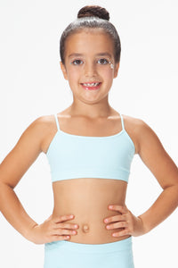 KIDS THICKER BASIC BANDEAU CAMI TOP