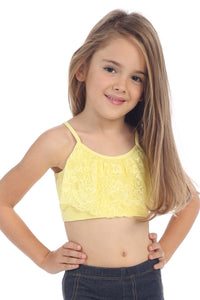 KIDS BASIC BANDEAU CAMI WITH LACE