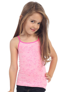 KIDS FLOWER JACQUARD CAMI