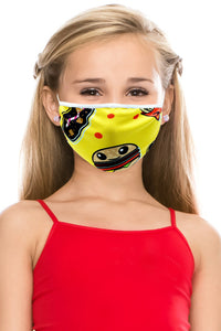 3 PACKS OF KIDS MASKS WITH PRINT