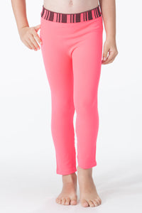 KIDS POINTEL RIB BAND LEGGING