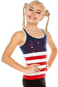 KIDS PATRIOT RACERBACK TANK TOP
