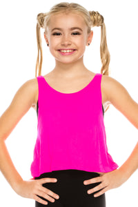 KIDS LOOSE FITTING SLEEVELESS TOP