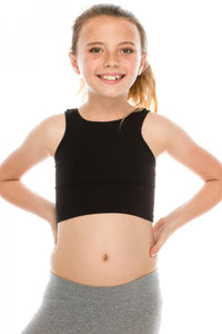 KIDS CROP TANK TOP