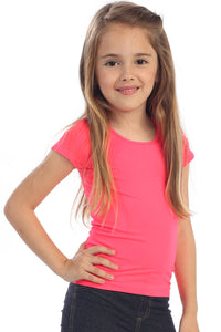 KIDS CAP SLEEVE TOP