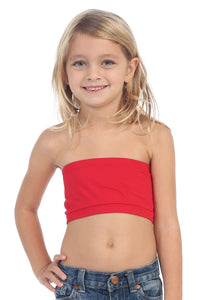KIDS BANDEAU TUBE TOP