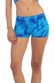 MARBLE TIE DYE WIDE BAND BOYSHORTS