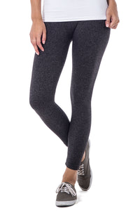 TRI HEATHER CALF LEGGINGS