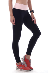 WIDE COLOR BAND LEGGINGS