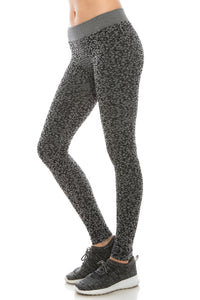 HEATHER PATTERN LEGGINGS