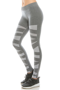 HEATHER THICK ANKLE LENGTH LEGGINGS