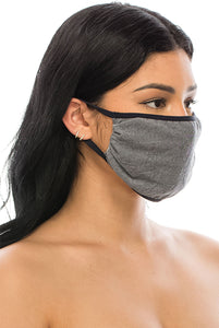 3 PACKS OF POLYESTER FACE PROTECTION MASKS