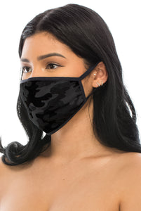 3 PACKS OF FASHION PROTECTIVE FACE MASKS