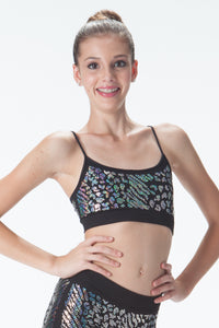 ZEPARD SEQUIN BANDEAU CAMI TOP