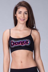 DANCE SEQUIN BRA CAMI