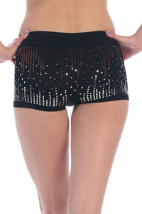 2 TONE SEQUIN BOYSHORTS