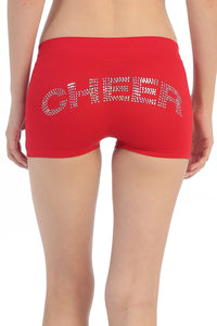 SEQUINED 'CHEER' BOY SHORTS