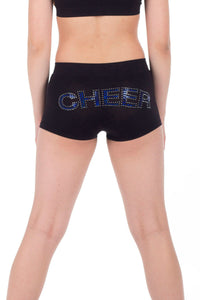 """CHEER"" SEQUIN & STUD BOYSHORTS"