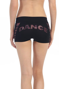 COLORED SEQUIN DANCE BOYSHORTS