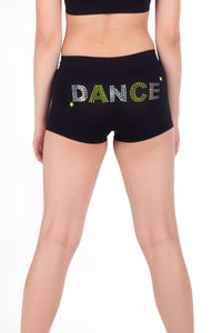 DANCE SEQUIN & STUD BOYSHORTS