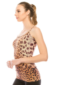 LEOPARD FULL LENGTH CAMISOLE