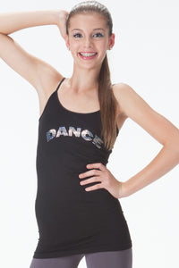 DANCE SEQUIN LONG CAMISOLE