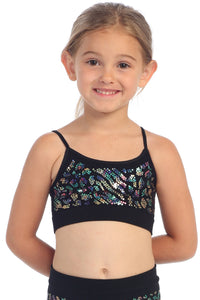KIDS ZEPARD SEQUIN TOP