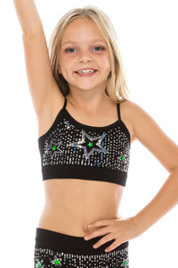 KIDS SCATTERED SEQUIN WITH STAR TOP
