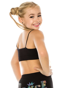 KIDS DANCE LOVE SEQUIN BRA CAMI