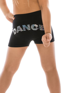 "KIDS SEQUIN ""DANCE"" BOY SHORTS"