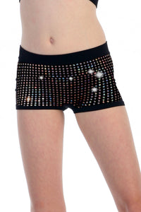 KIDS SEQUIN BOY SHORTS