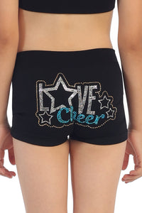 KIDS LOVE CHEER STUD BOYSHORTS