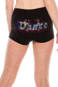 KIDS DANCE SEQUIN BOYSHORTS