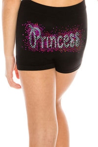 "KIDS ""PRINCESS"" SEQUIN BOYSHORTS"