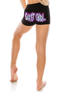 "KIDS ""SWEET GIRL"" SEQUIN BOYSHORTS"