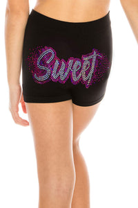 "KIDS ""SWEET"" SEQUIN BOYSHORTS"