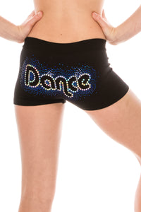 KIDS DANCE HOLOGRAM SEQUIN BOYSHORTS