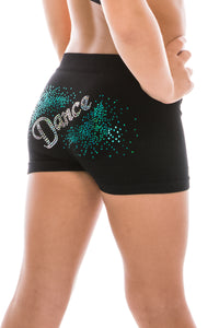 KIDS DANCE FIRECRACKER SEQUIN BOYSHORTS