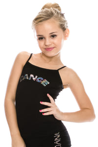 "KIDS ""DANCE"" SEQUIN CAMI"