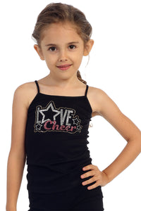 KIDS LOVE CHEER STUD CAMI