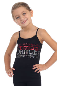 KIDS TWO TONE DANCE SEQUIN CAMI