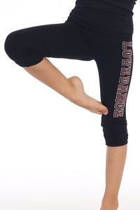 "KIDS ""LOVE DANCE"" STUD LEGGINGS"