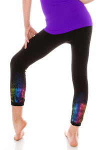 KIDS HOLIDAY ANKLE LEGGINGS