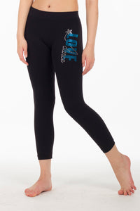 LOVE DANCE STUD CALF LEGGINGS